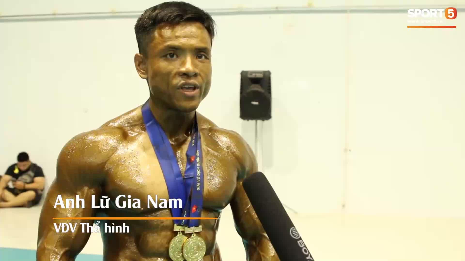 VĐV từng nặng 146 kg nói gì sau khi chiến thắng tuyệt đối tại Giải thể hình vô địch Quốc gia?