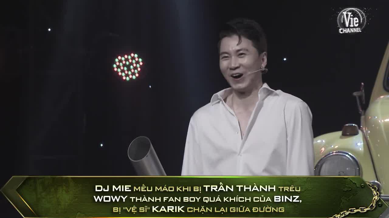 Clip hậu trường Chung kết 2 Rap Việt