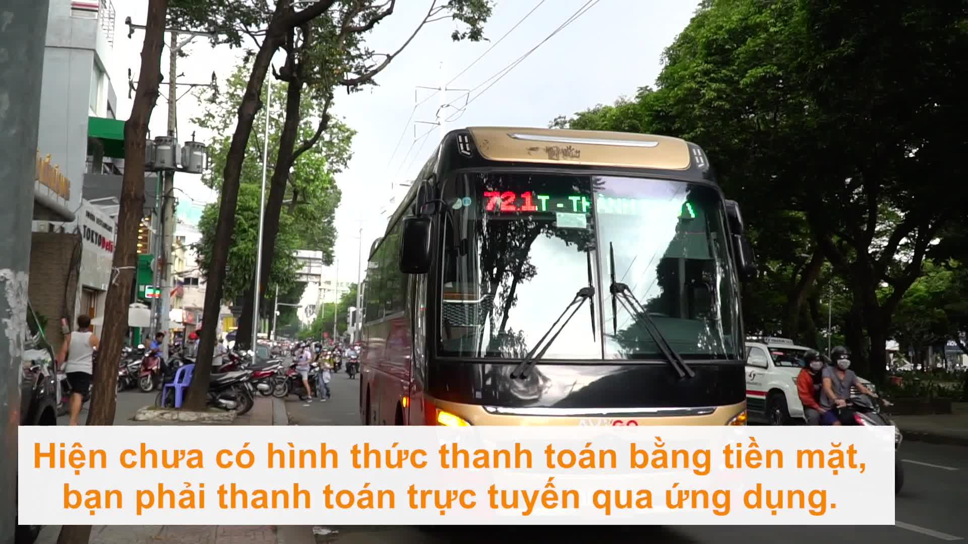 Trải nghiệm dịch vụ xe buýt mới trên ứng dụng Grab