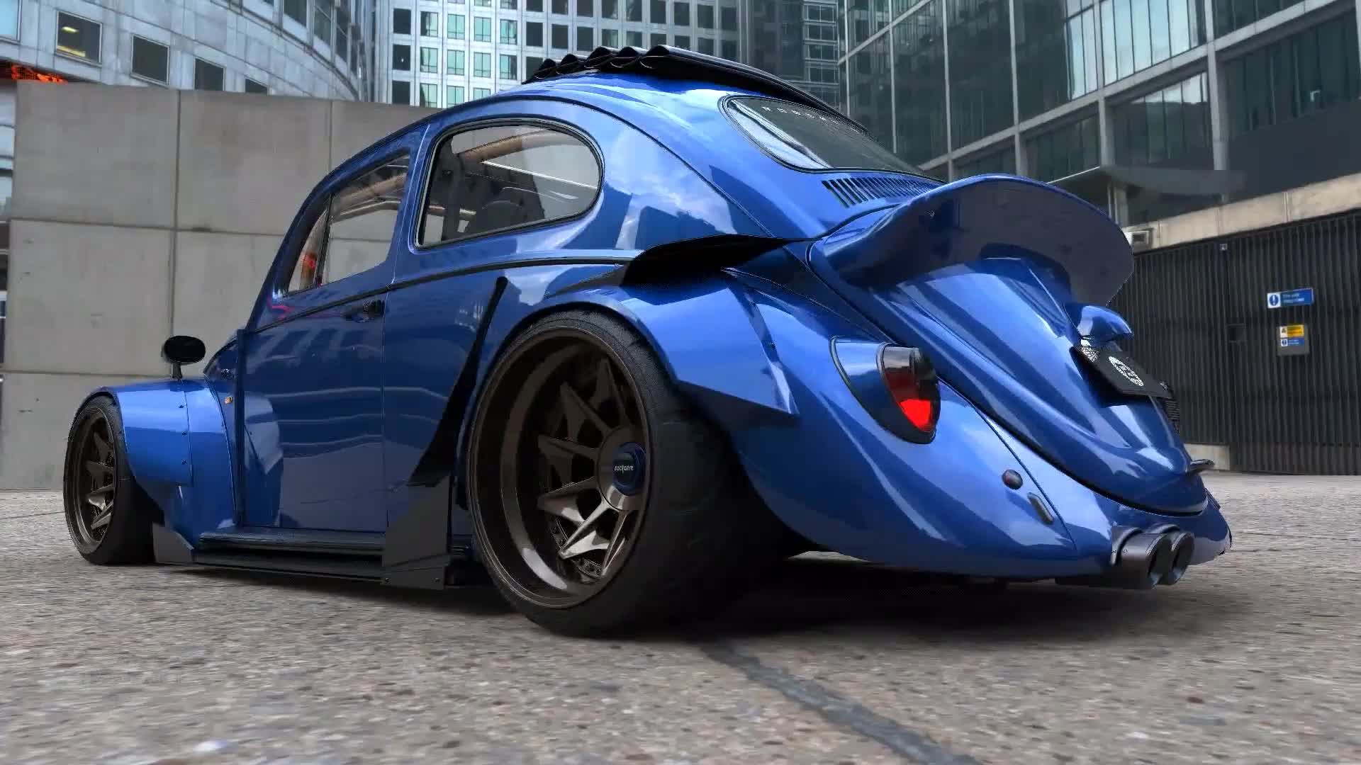 Ngắm con bọ Volkswagen độ Body cực ngầu