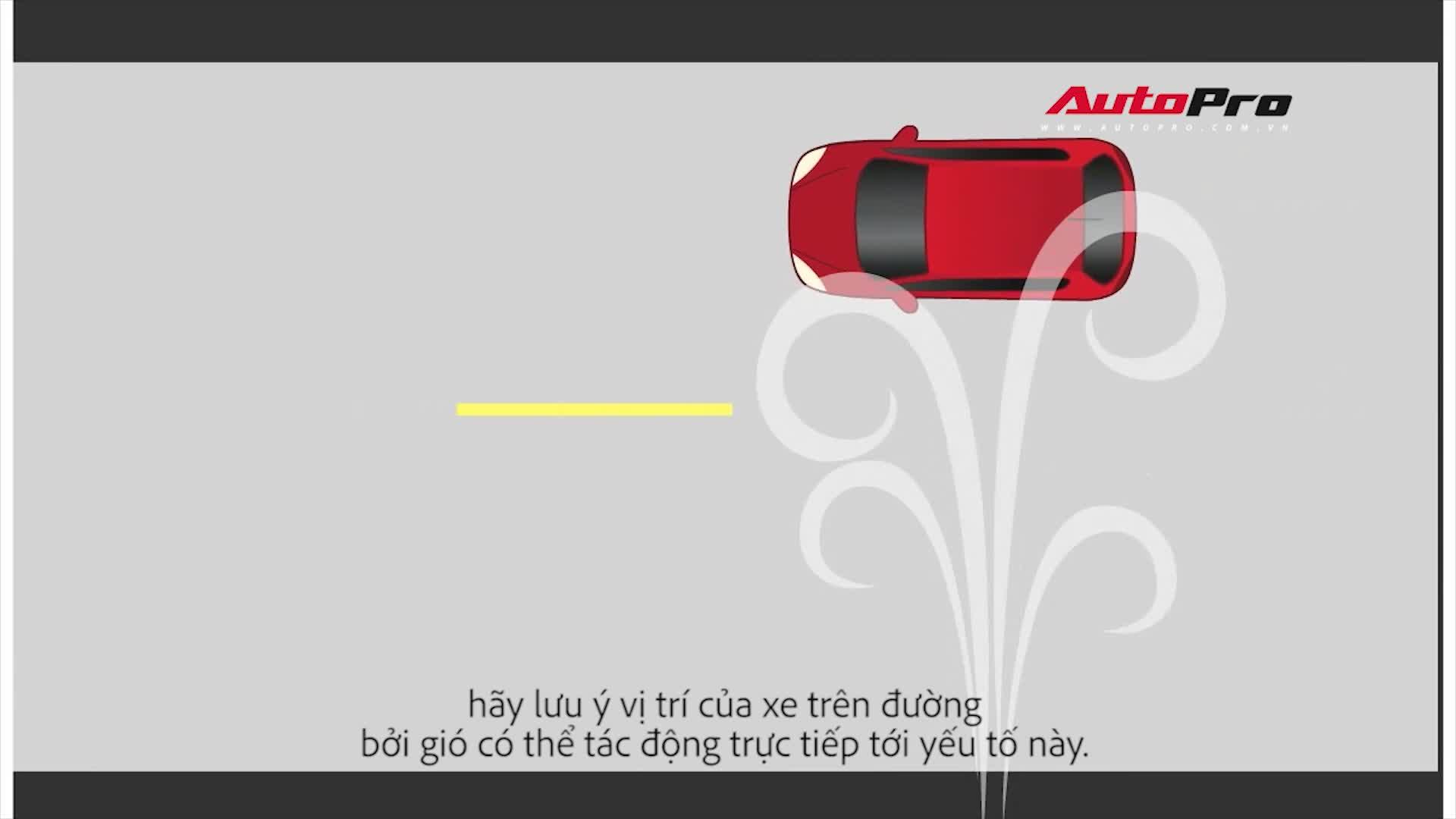 Bão về và đây là hướng dẫn lái xe an toàn mà bạn cần biết