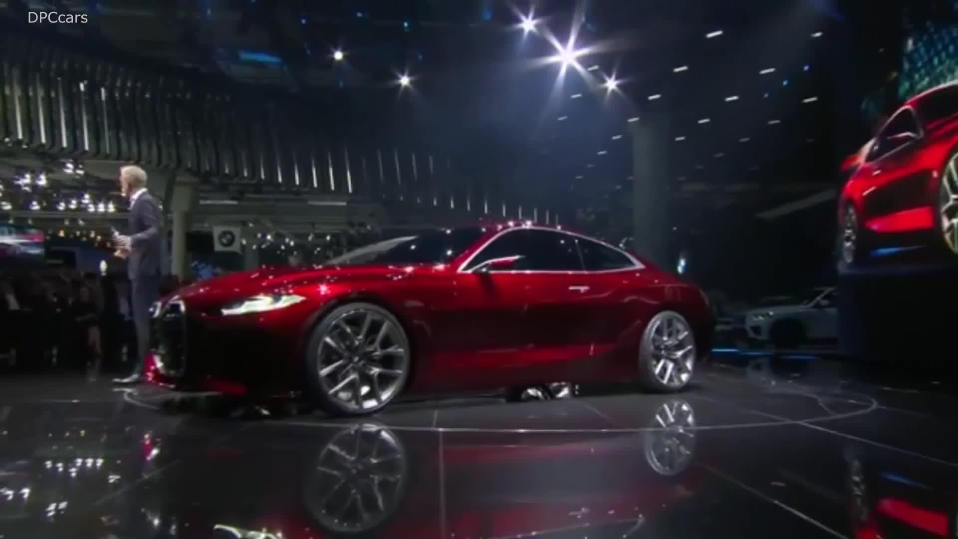 BMW giới thiệu BMW concept 4 tại IAA 2019