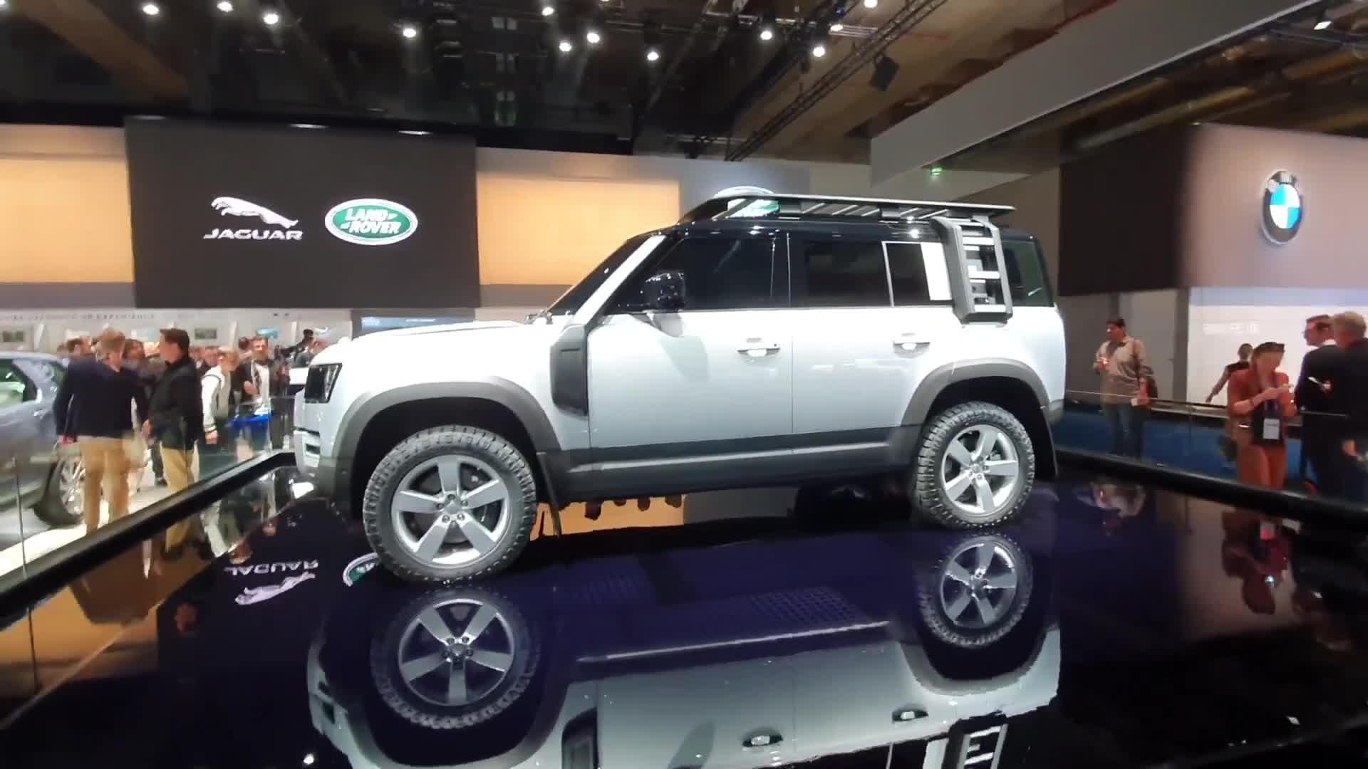 Khám phá nhanh Land Rover Defender tại IAA 2019