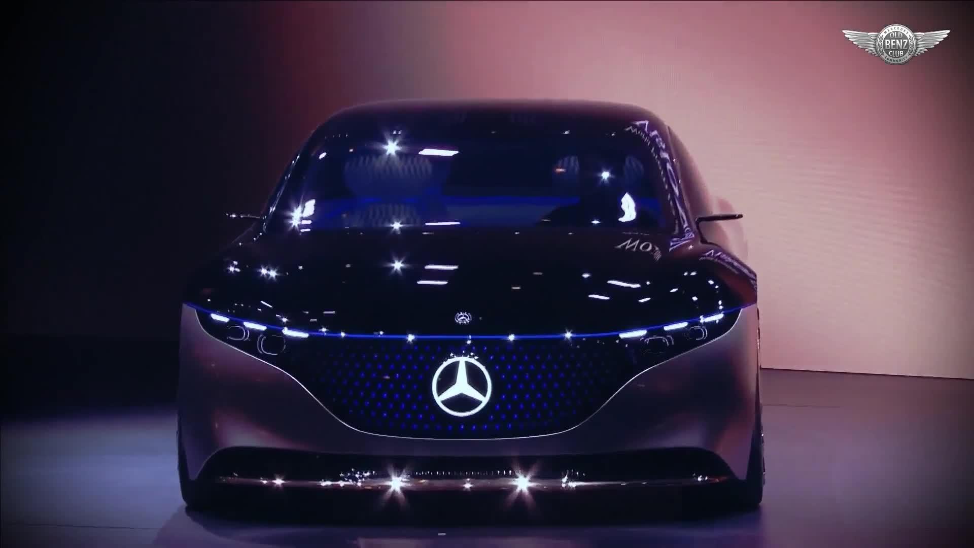 Ra mắt Mercedes-Benz EQS tại IAA 2019