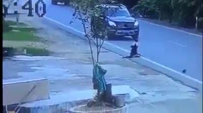 Người phụ nữ gặp tai nạn nhưng chiếc xe máy mới là chi tiết được cư dân mạng bàn tán
