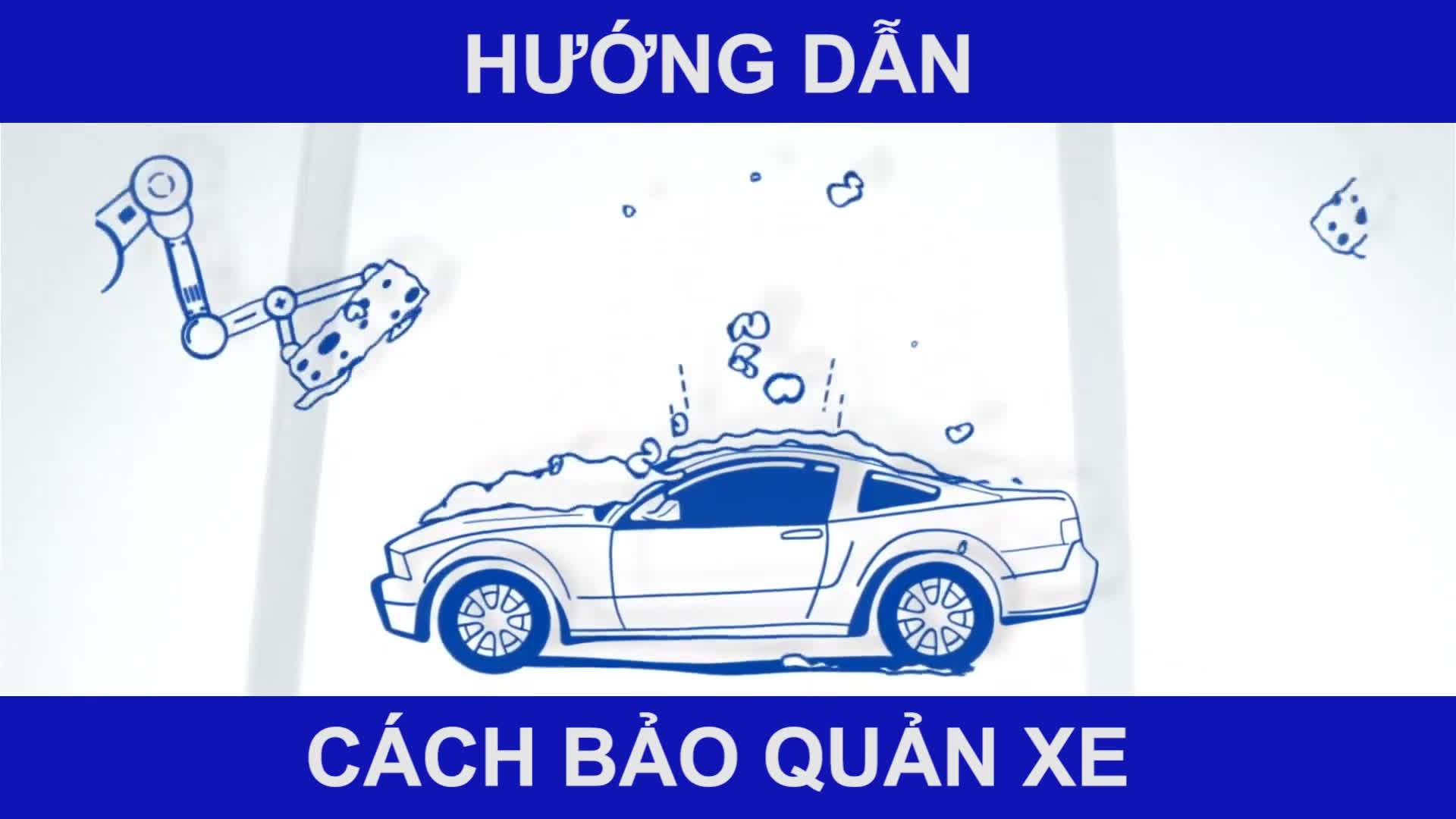 Hướng dẫn bảo quản xe đúng cách