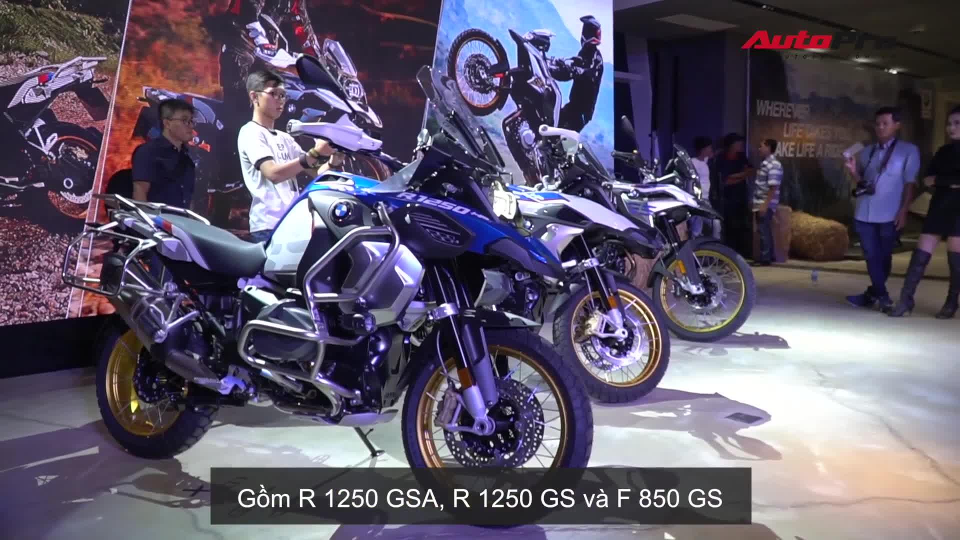 BMW Motorrad giới thiệu bộ ba mô tô địa hình đời mới tại Việt Nam