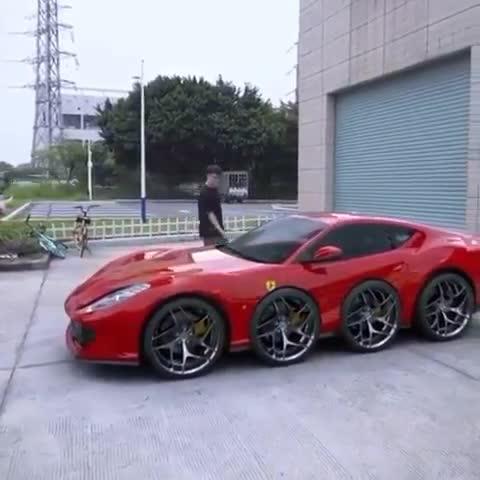 Chắc chắn đây là chiếc Ferrari kì lạ nhất trên Thế giới