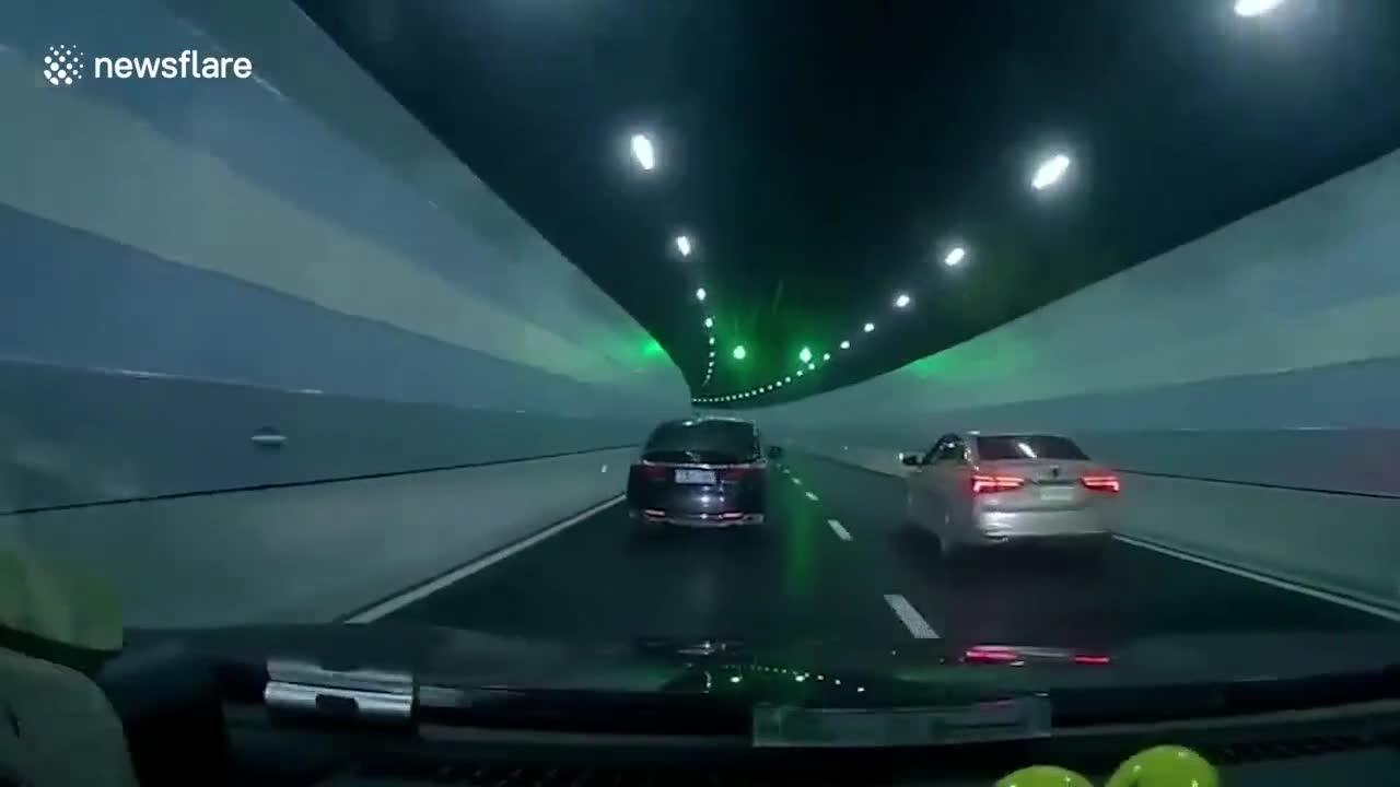 Vượt ẩu, tài xế ô tô bị trả đũa dẫn tới cú va chạm đáng tiếc