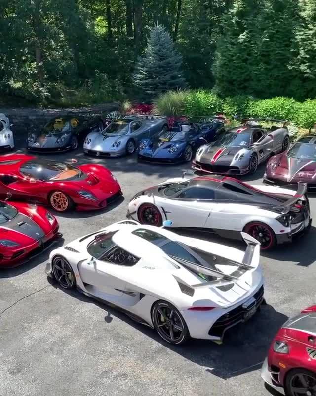 Thiên đường siêu xe nhiều người mơ ước là đây