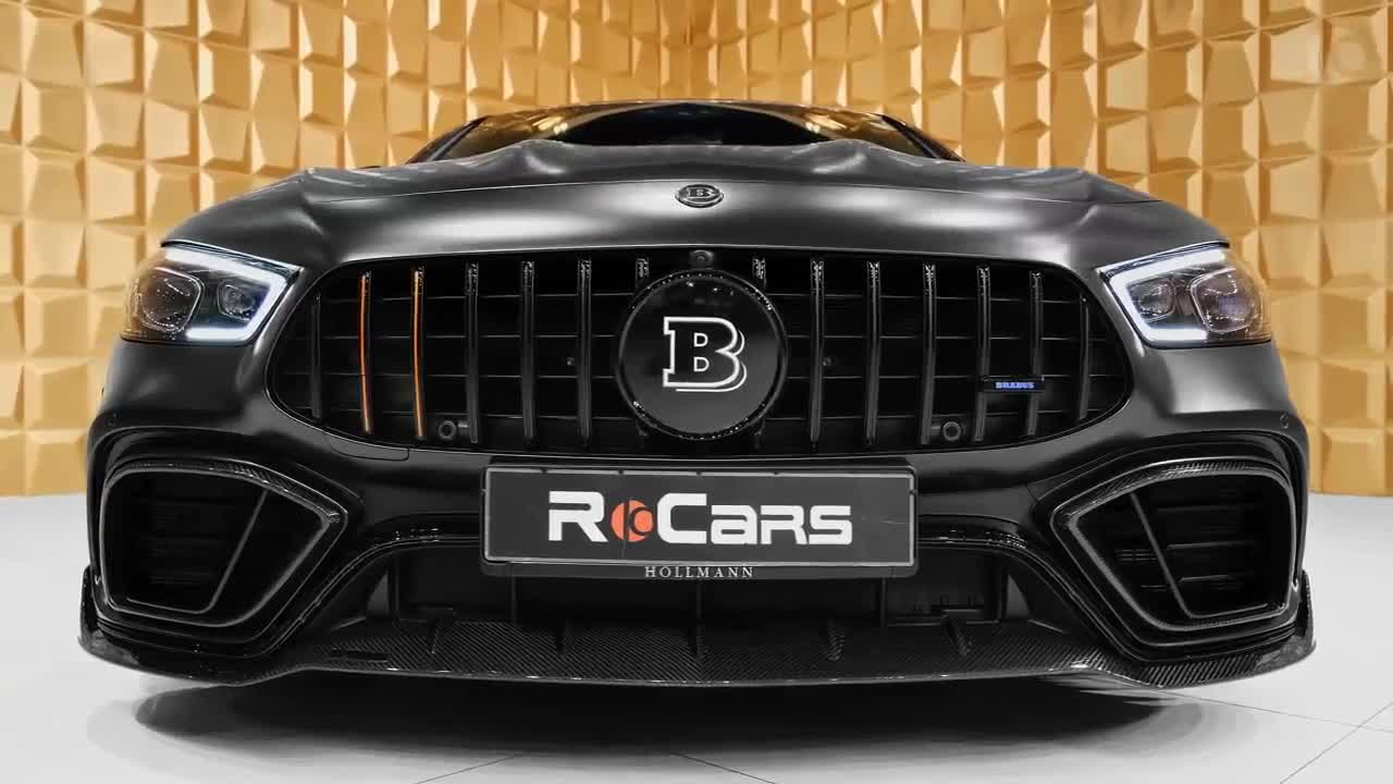 Mercedes-AMG GT 63 S lột xác dưới 'bàn tay' của Brabus