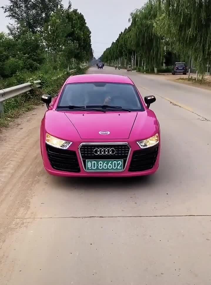 Sản phẩm nhái Audi R8 xấu đến khó tin
