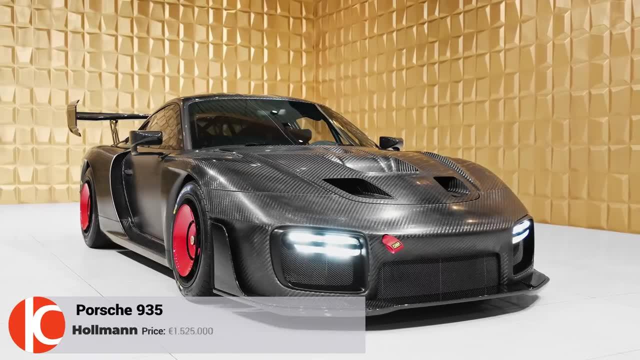 Chiêm ngưỡng Porsche 935 Full Carbon giá 1,7 triệu USD