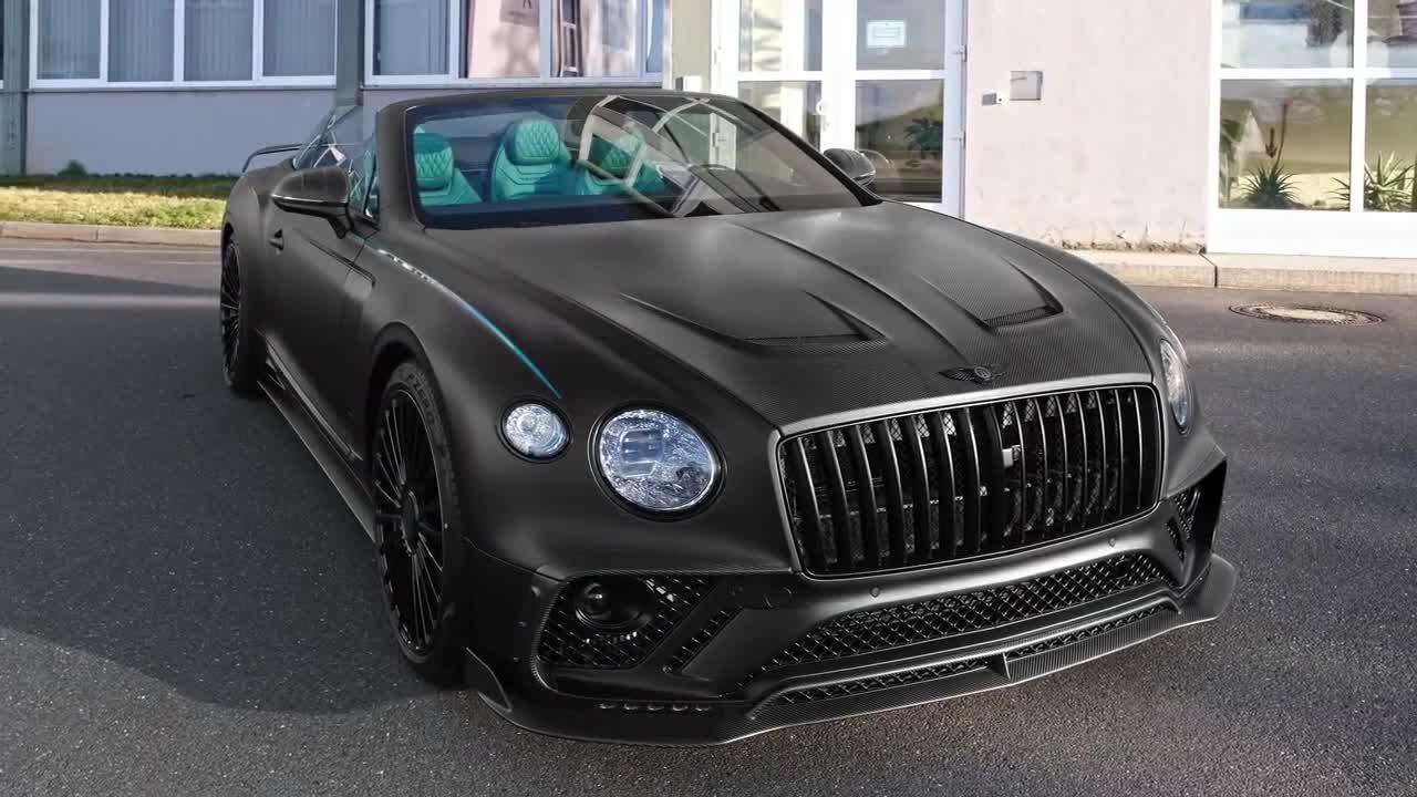 Chiêm ngưỡng vẻ đẹp của Bentley Continental GTC với bản độ Mansory cực độc