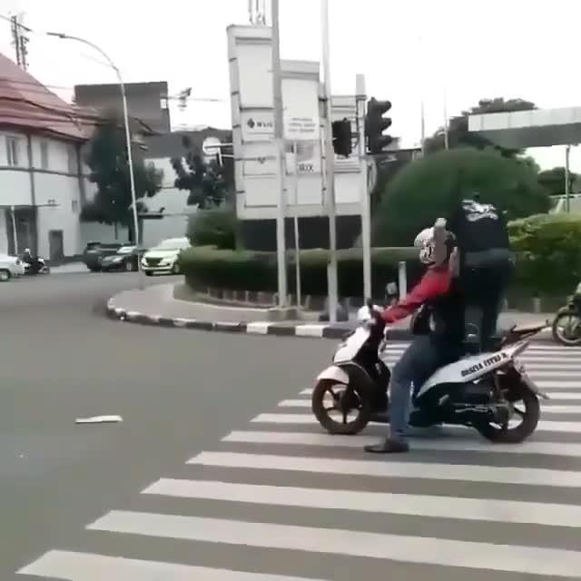 Bài học cho kẻ đỗ sai trên vạch đi bộ sang đường