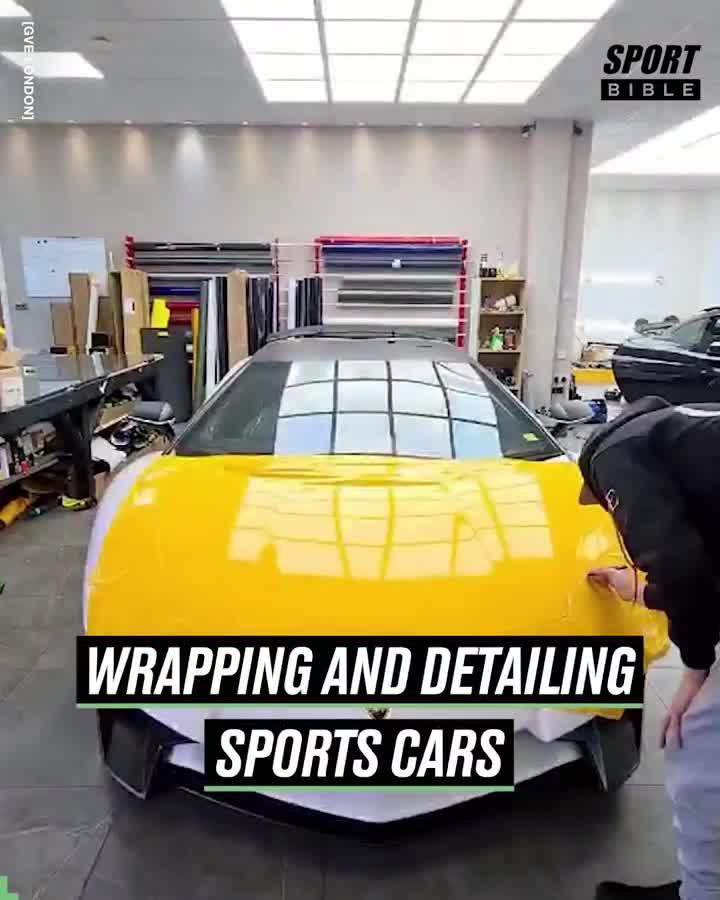 Phù phép ngoại hình siêu xe, xe thể thao bằng decal