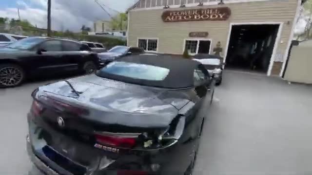 Khôi phục chiếc BMW M850i vỡ nát đuôi thành như mới