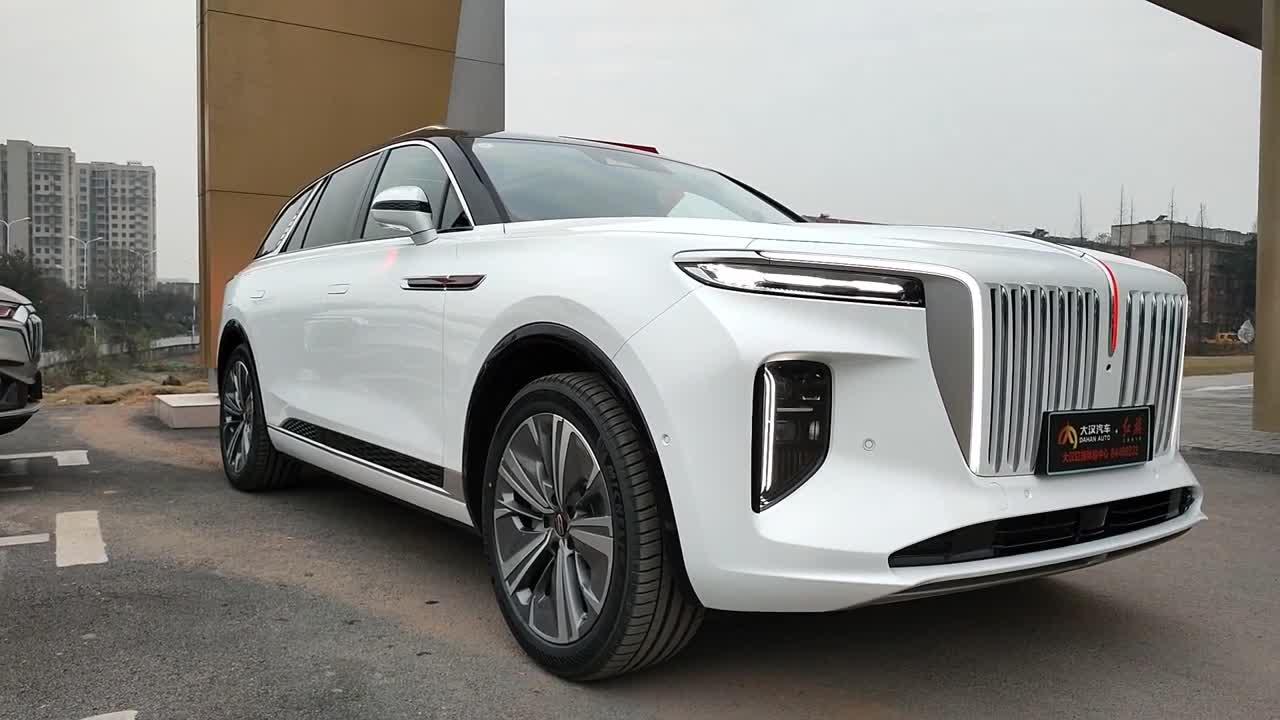 Khám phá chi tiết Hongqi E-SH9 được ví là Rolls-Royce Cullinan của Trung Quốc