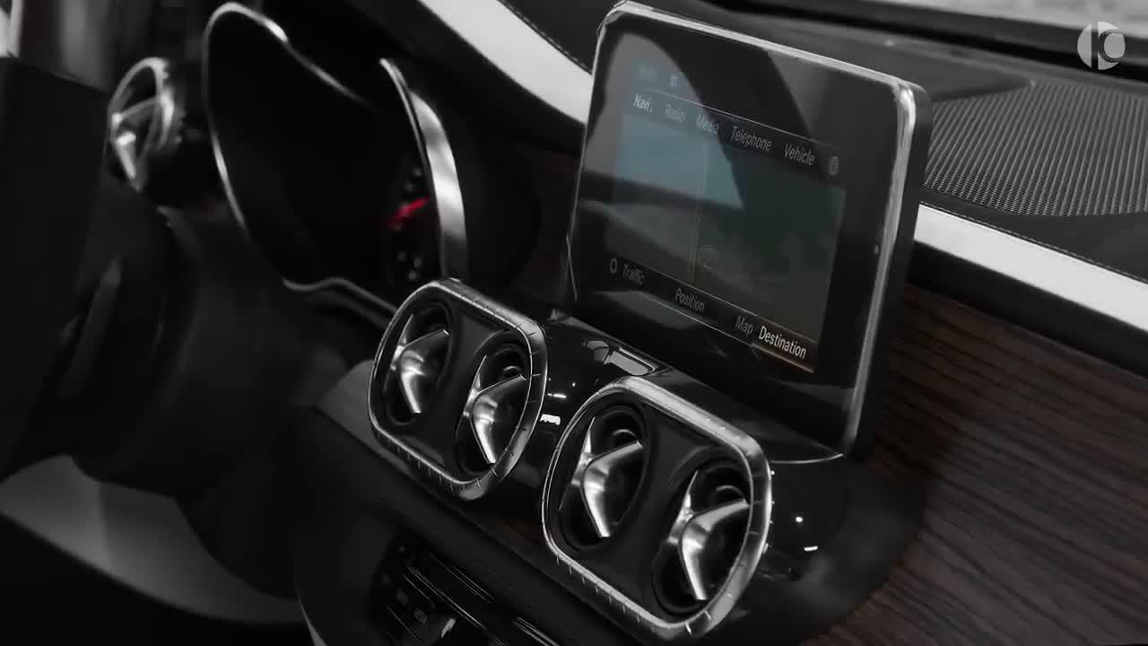 Khám phá Mercedes-Benz X-Class bản độ sang trọng bậc nhất thế giới