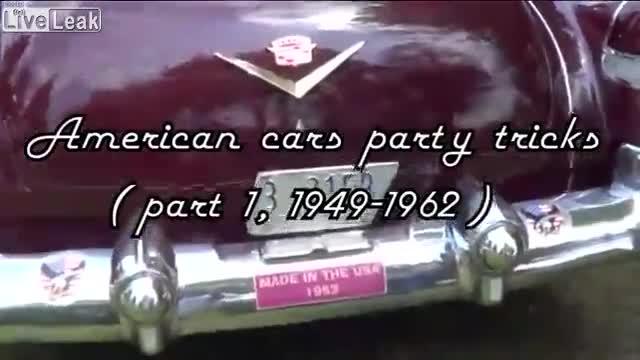 Những trang bị không tưởng có trên xe hơi Mỹ nhiều thập kỷ trước