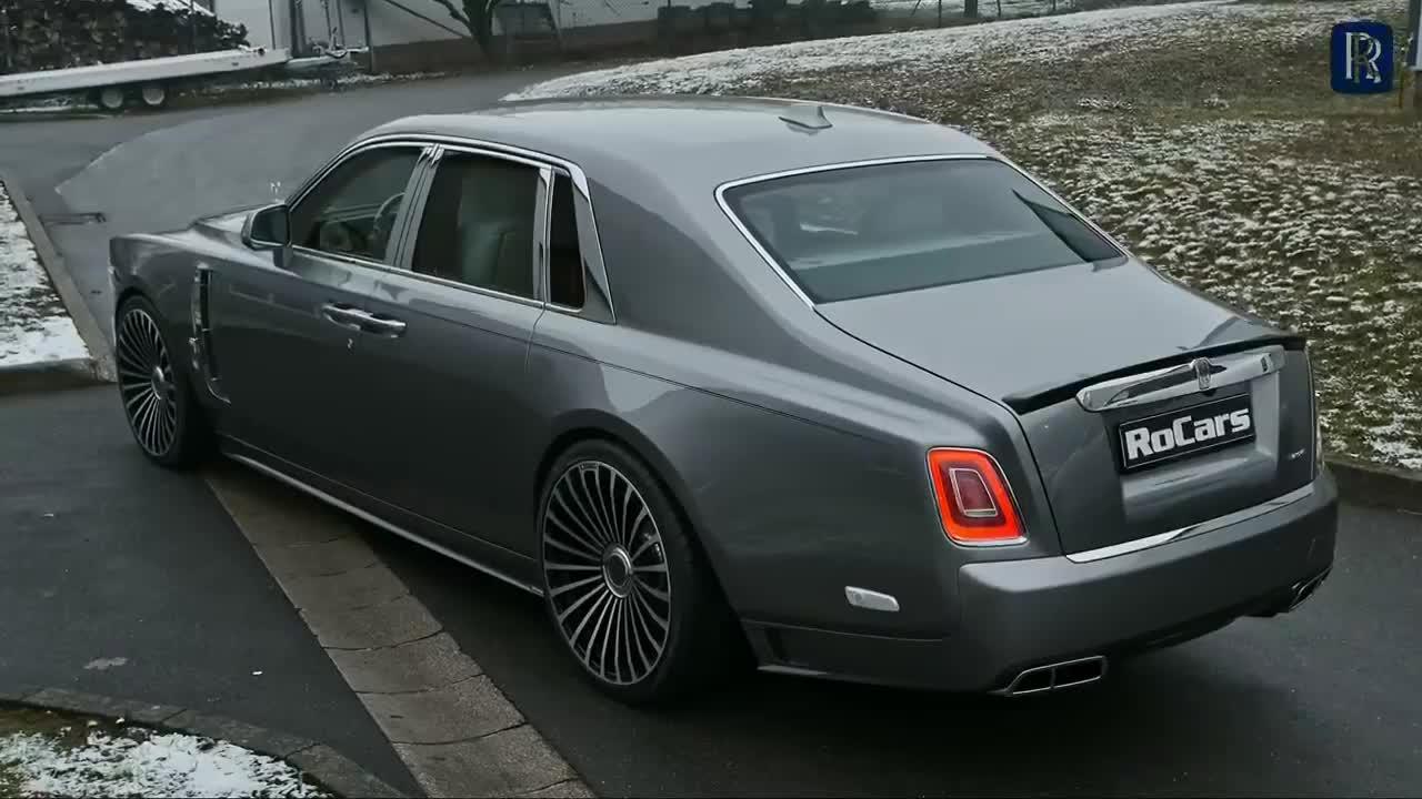 Rolls-Royce Phantom biến thành 'thú dữ' qua bản độ của Mansory
