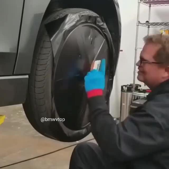 Đây là cách thay đổi màu vành xe mà không cần phải sơn
