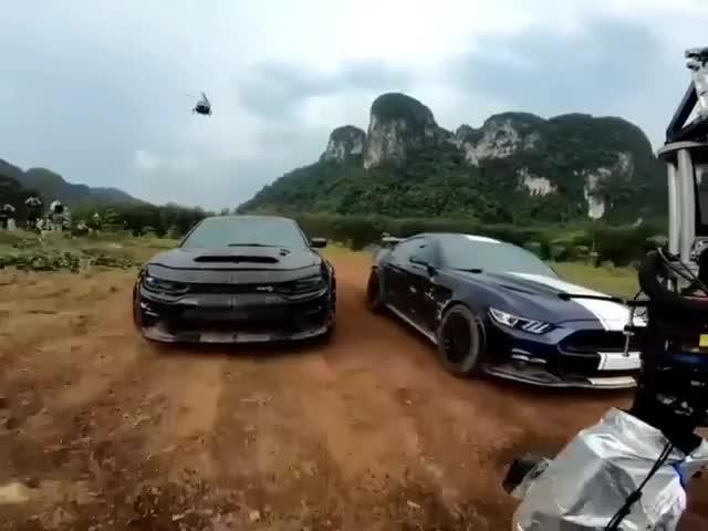 Hoá ra cảnh quay hành động đầy khói lửa trong Fast & Furious 9 được thực hiện như thế này đây