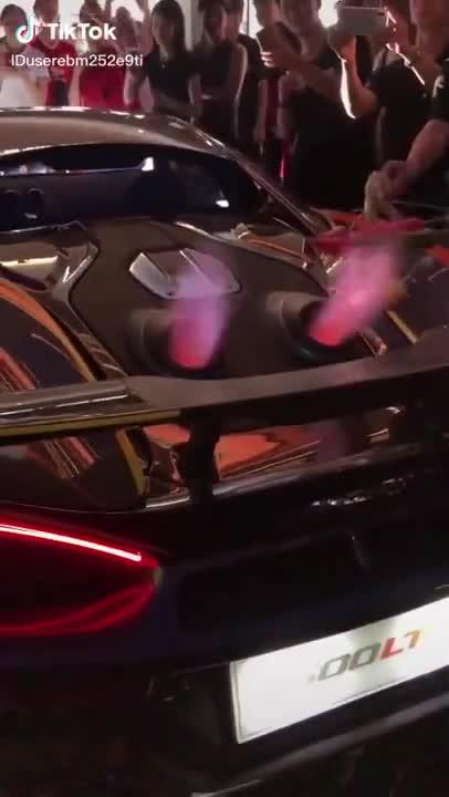 Đẳng cấp của giới nhà giàu: Mang siêu xe ra nẹt pô chỉ để nướng thịt