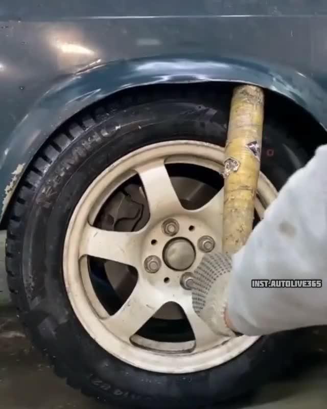 Hoá ra gò lại vòm bánh xe chưa bao giờ dễ dàng hơn thế