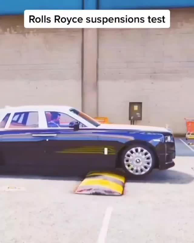 Đây là một minh chứng nhỏ đủ để hiểu tại sao hệ thống treo trên Rolls-Royce luôn ở top đầu thế giới