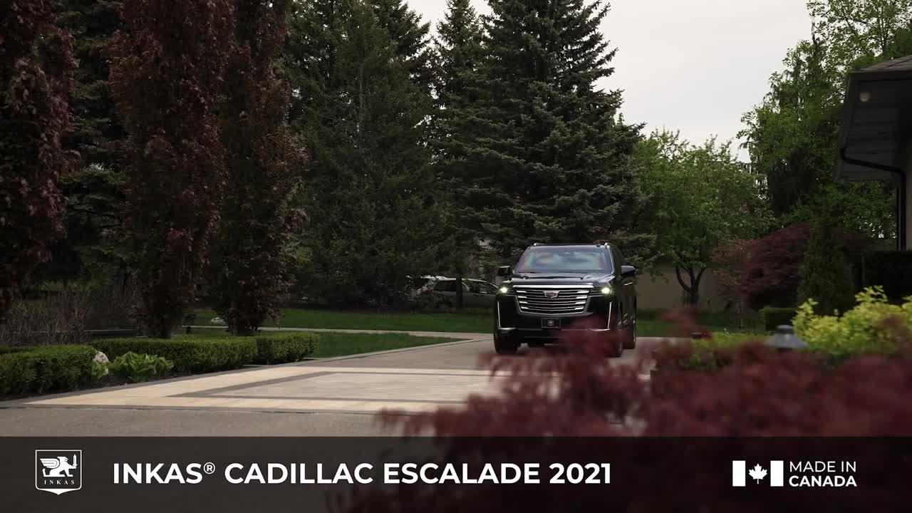 INKAS® tung Cadillac Escalade đời mới bọc thép