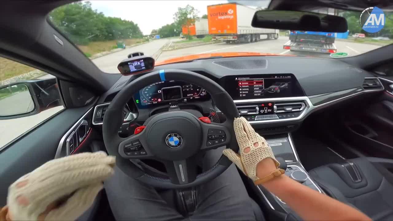 Thử trải nghiệm vận hành BMW M4 2021 - Xe thể thao được trông chờ sẽ về Việt Nam