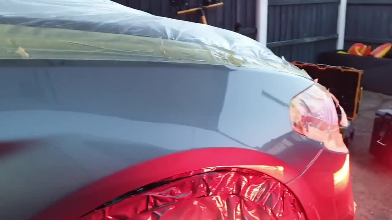 Cách phục hồi vết lõm sâu trên vỏ ô tô