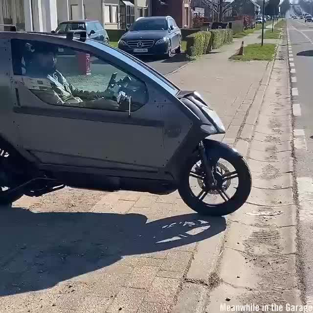 Quá trình độ buồng lái cho một chiếc xe máy