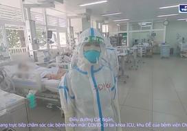 Bên trong khu điều trị ICU Bệnh viện Chợ Rẫy
