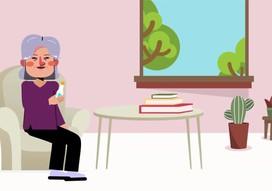 Hướng dẫn cho người cao tuổi thực hiện cách ly tại nhà