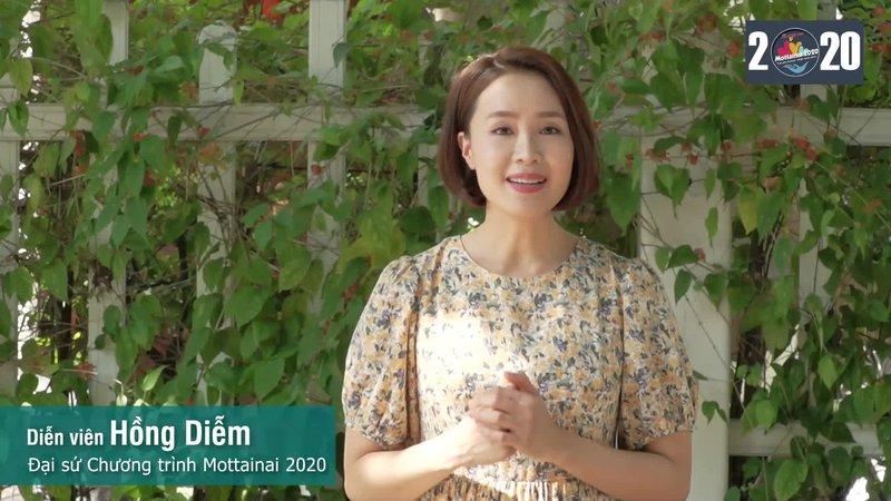 Diễn viên Hồng Diễm: Hạnh phúc khi được góp sức lan tỏa thông điệp ý nghĩa của Mottainai 2020