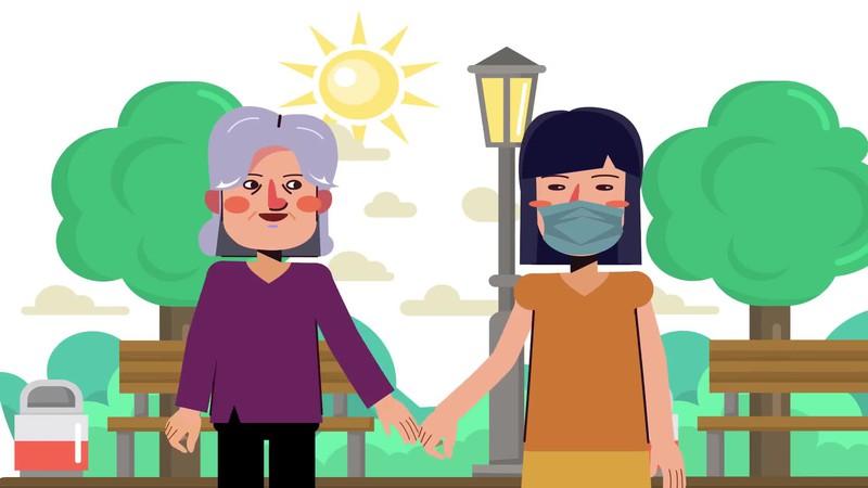10 điều dành cho người chăm sóc người cao tuổi trong dịch Covid-19
