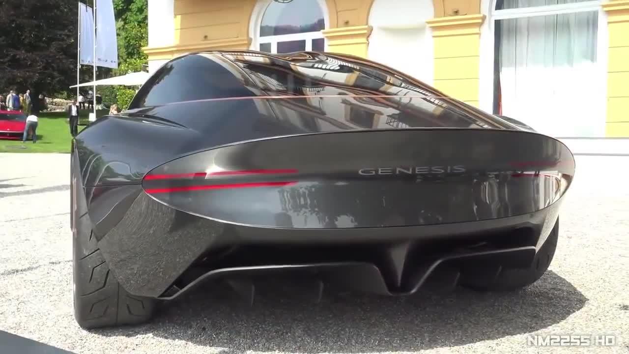 Genesis Essentia Concept xuất hiện tại Concorso d;Eleganza Villa d'Este 2018