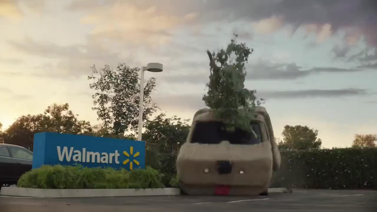 """Trailer đầy táo bạo của Walmart với sự xuất hiện của 12 """"minh tinh"""" màn bạc trong ngành xe"""