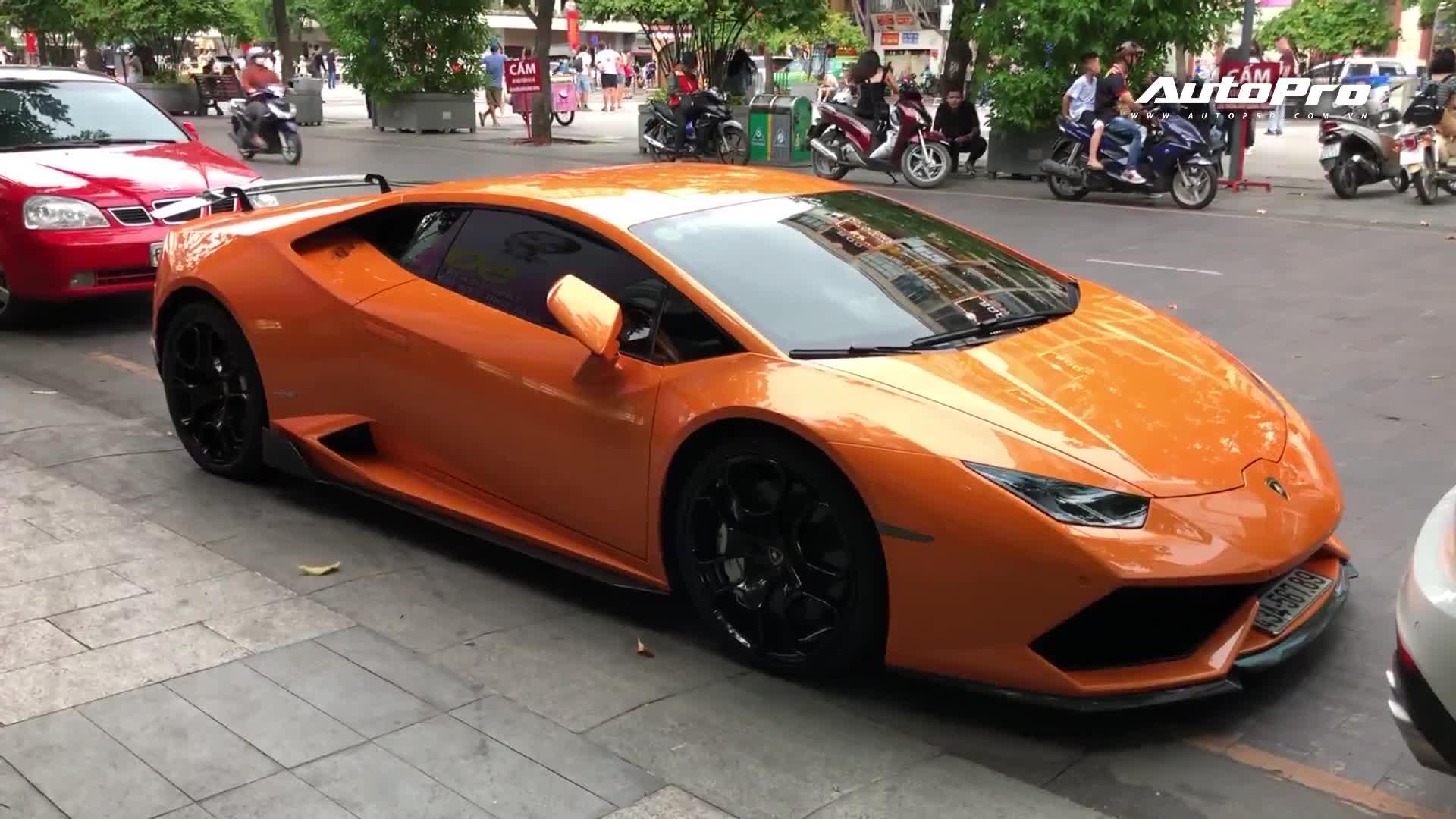 """Đại gia may mặc Đà Nẵng bán Lamborghini Huracan """"san bằng tất cả"""" vào Sài Gòn"""