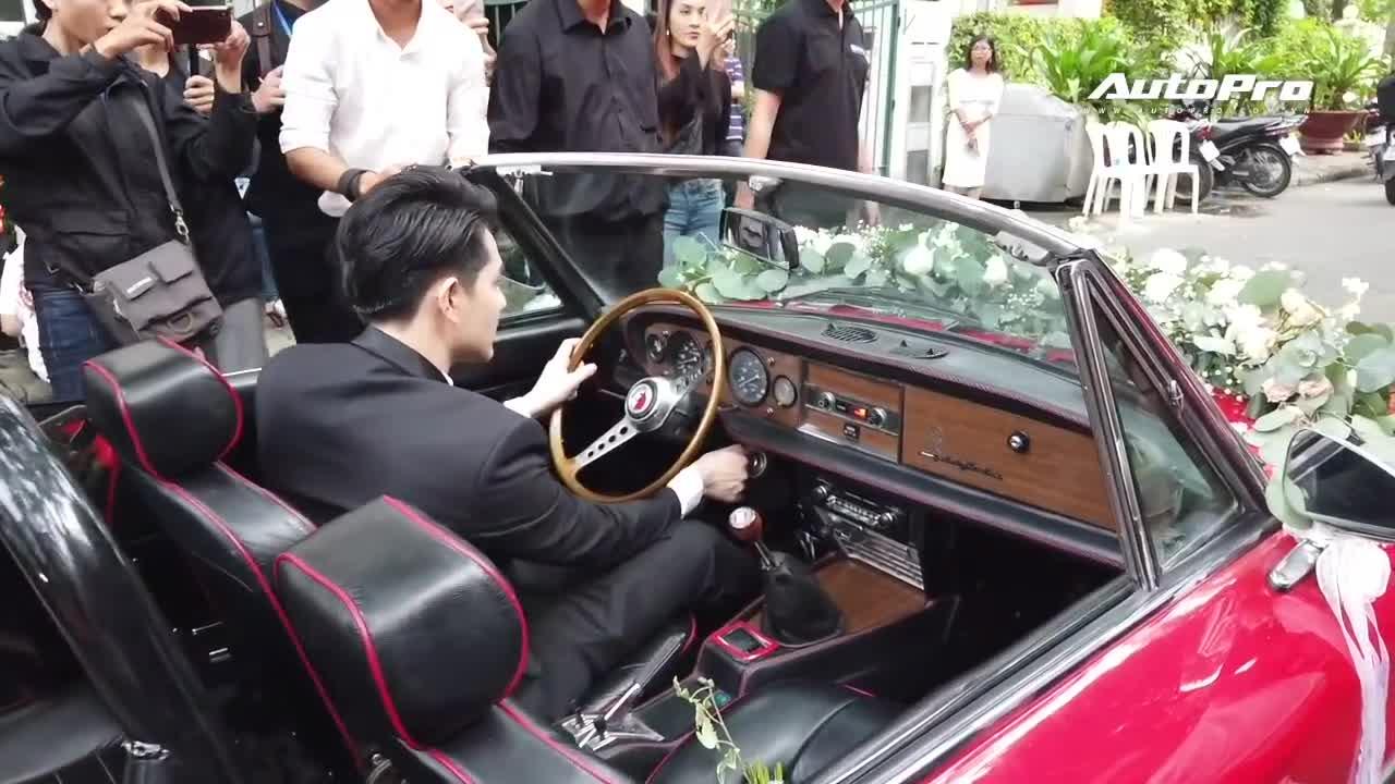 Ông Cao Thắng than khó khi cầm lái chiếc Fiat 124 Sport Spider