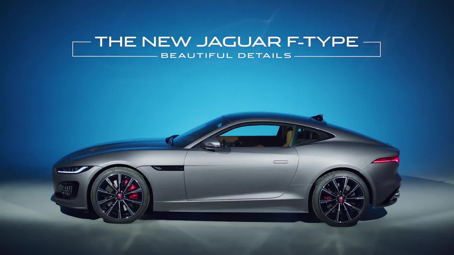 Chi tiết Jaguar F-Type 2021