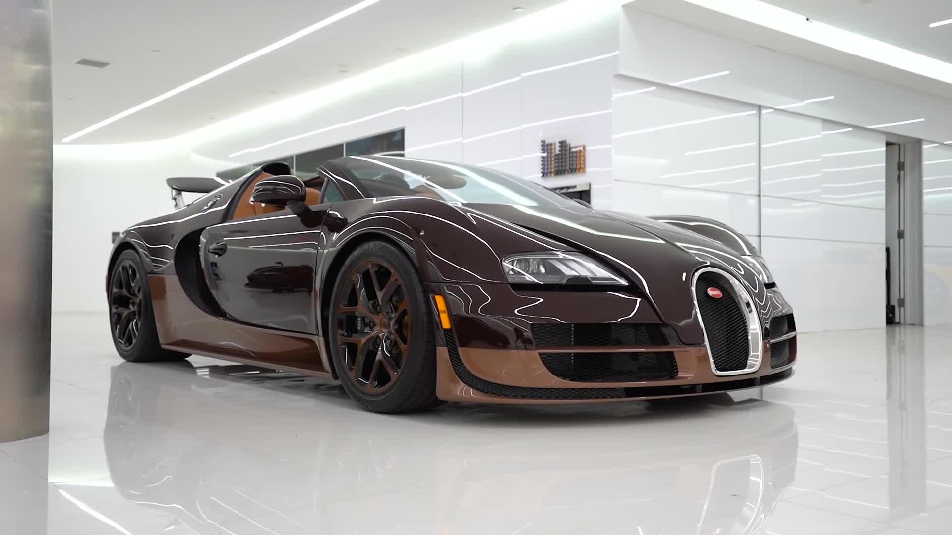 """Chủ xe Bugatti Veyron kêu trời vì chi phí bảo dưỡng """"đau tim"""""""