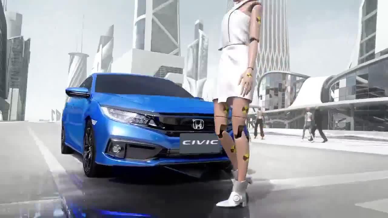 Khám phá gói an toàn Honda Sensing trên Civic 2019