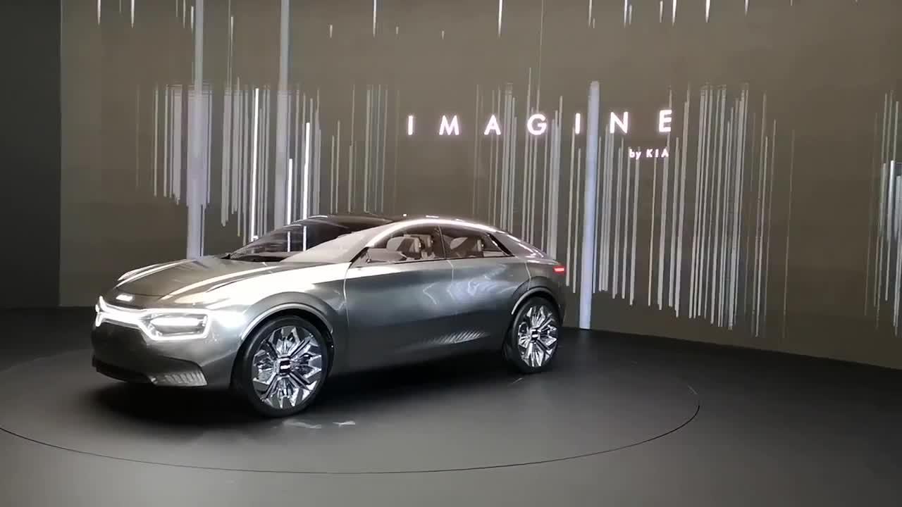 Imagine by Kia concept ra mắt tại triển lãm Geneva 2019 cùng Kia Soul và Niro mới