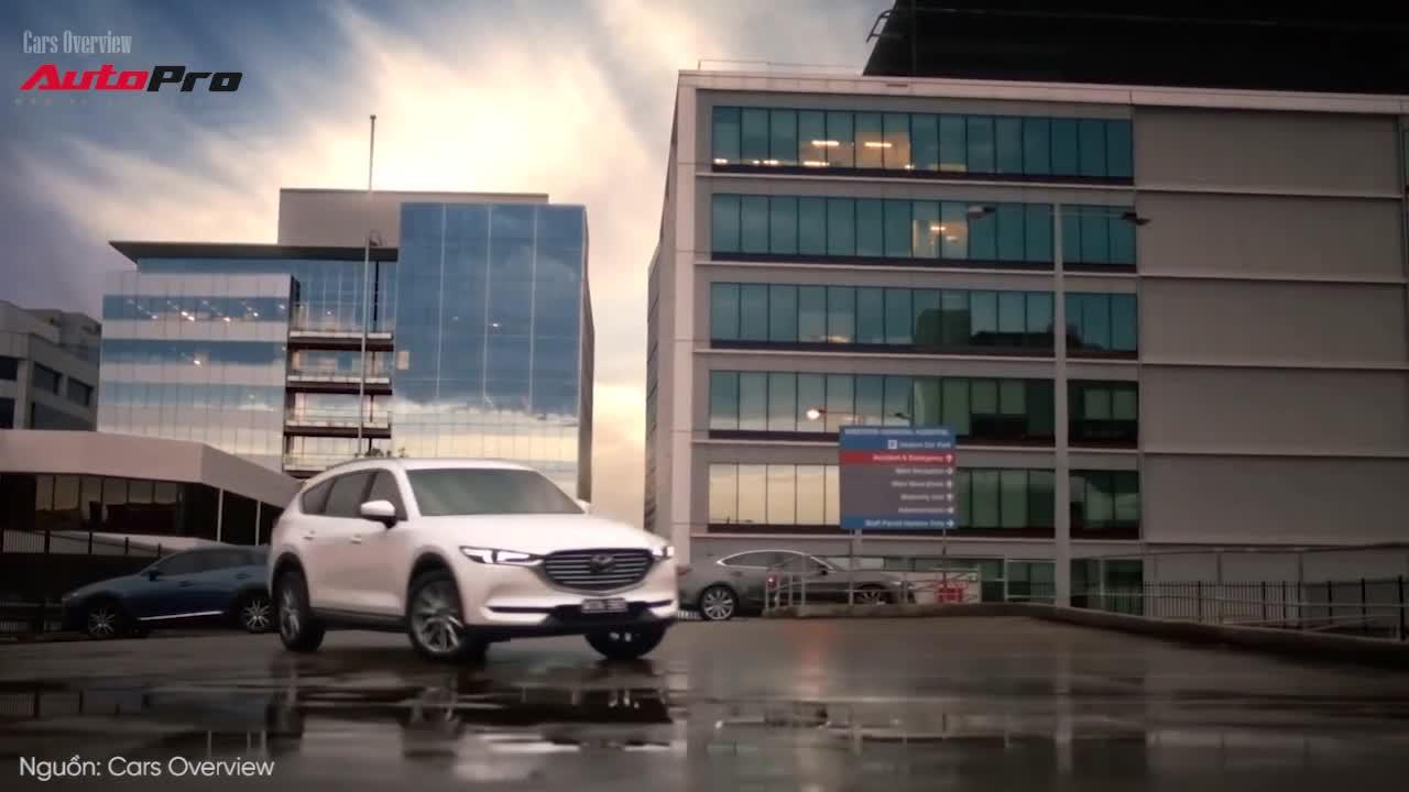 Khám phá chi tiết Mazda CX-8 2019 sắp bán tại Việt Nam