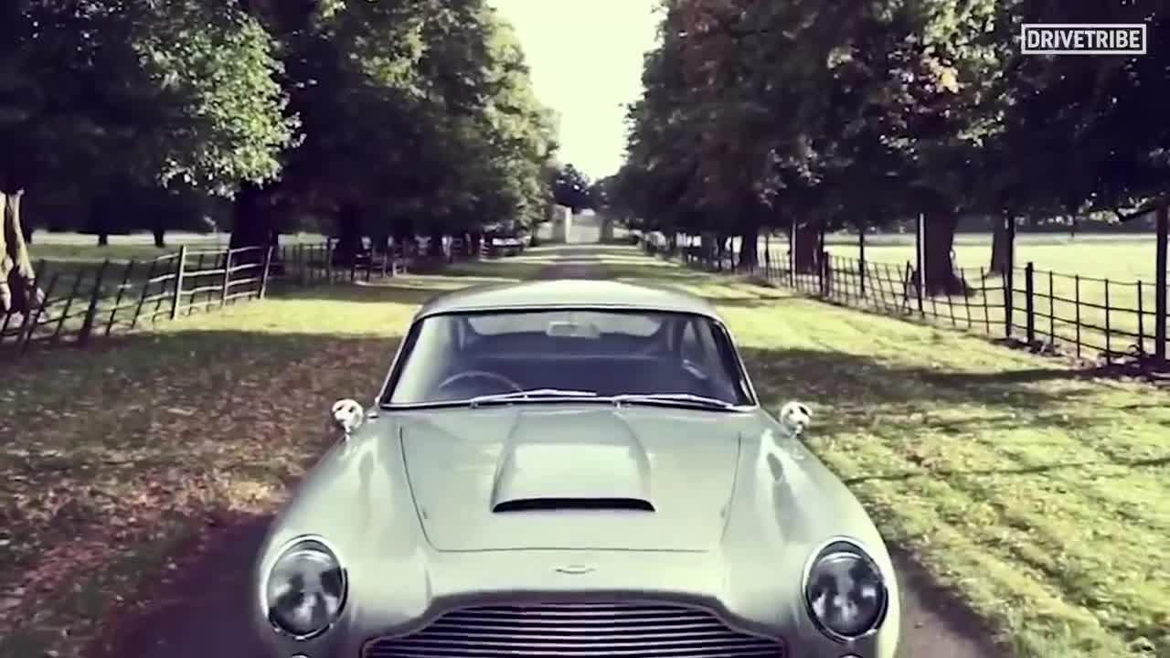 Aston Martin Goldfinger DB5 Continuation cùng dàn trang bị dị (1)