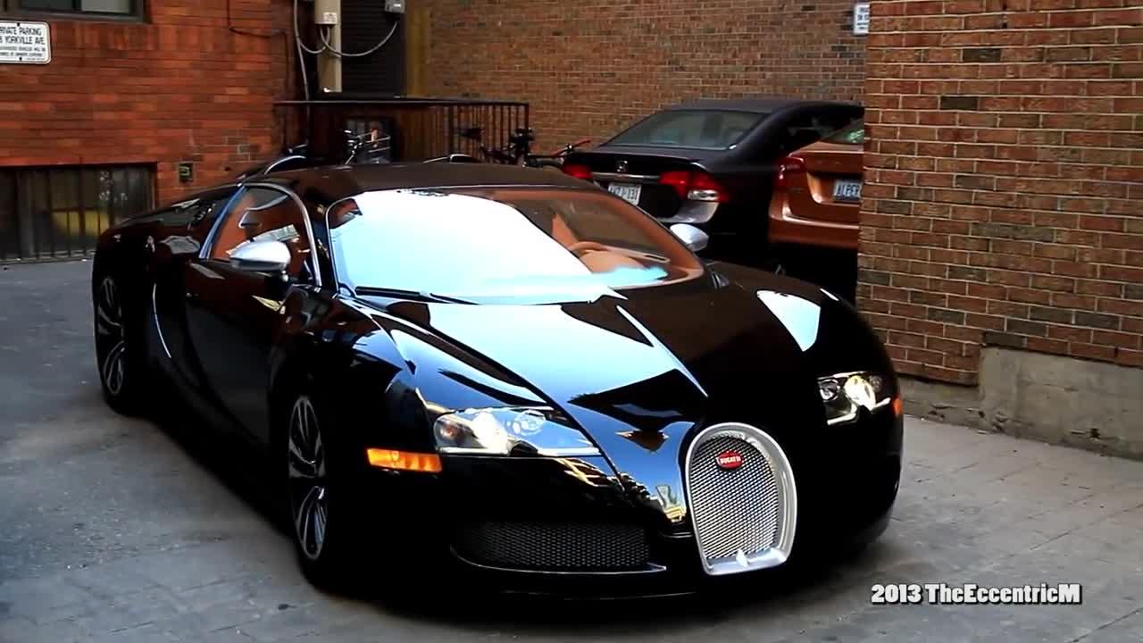 Bugatti Veyron Sang Noir siêu hiếm của rapper Drake