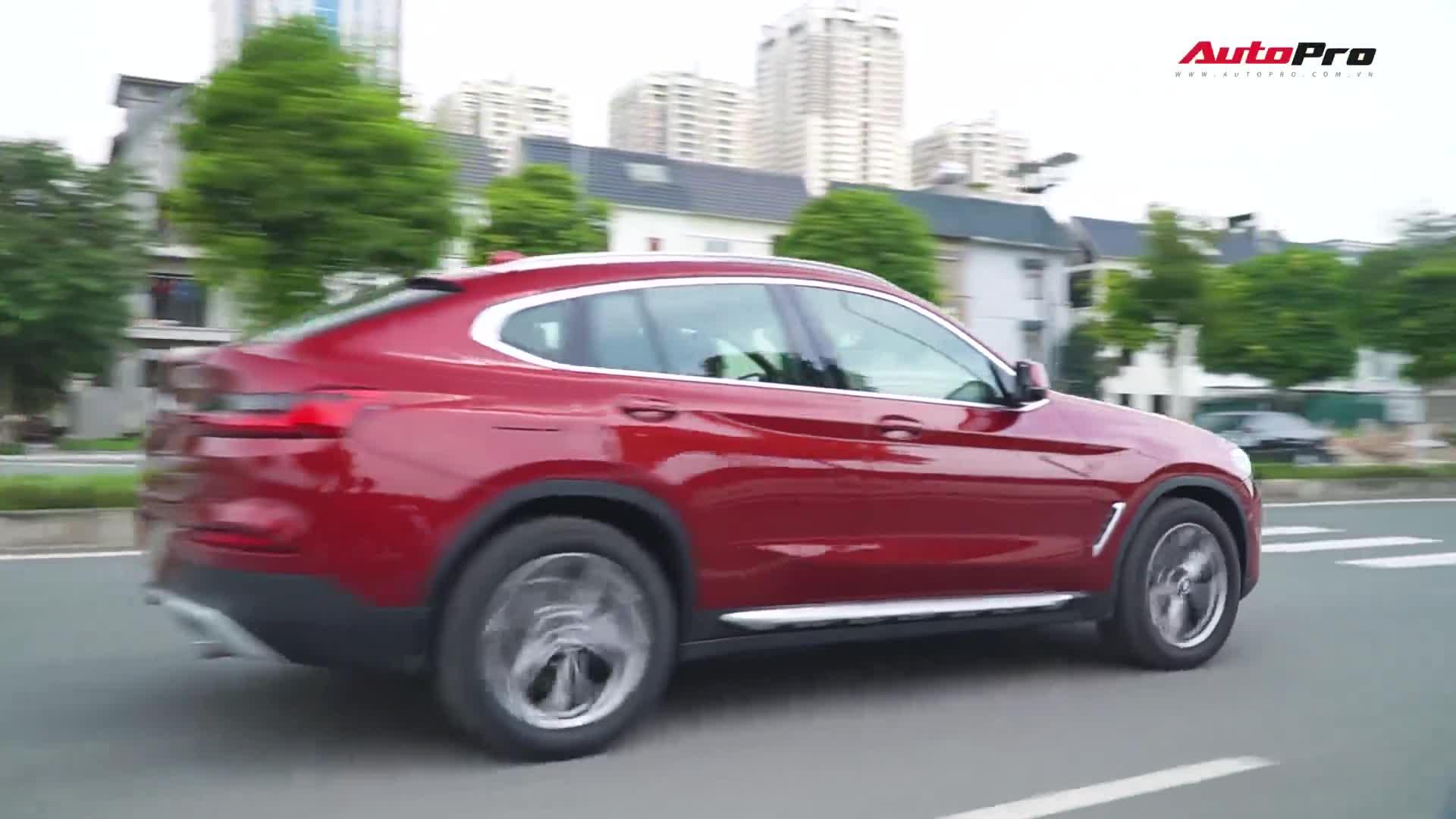 Chi tiết BMW X4 tại Việt Nam